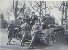 Lieutenant Rex Whistler (centre) & Cromwell tank crew, 1944. On the 5th July 1944, Rex wrote to his mother from Normandy, where his battalion was stationed: 'I am writing in the evening glow, the light failing rapidly, so that I am not sure that I will have enough time to finish…Everything looks the picture of peace in the twilight and only the almost ceaseless gunfire contradicts.' Whistler was killed in action on 18th July 1944.