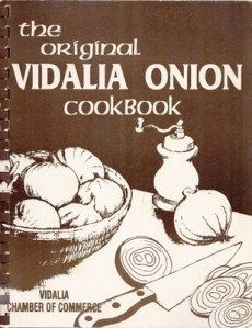 The Original Vidalia Onion Cookbook from the #Vidalia Chamber of Commerce.