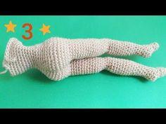 1.video Amigurumi Barbie Bebek Ayak Yapımı - Başlangıc Detaylı Anlatım| CROCHET Amigurumi Tutorial - YouTube Crochet Amigurumi, Amigurumi Tutorial, Crochet Yarn, Crochet Toys, Crochet Doll Tutorial, Crochet Doll Clothes, Crochet Videos, Amigurumi Doll, Cute Crochet