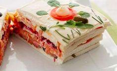 Thermomix Planet - Las mejores recetas Thermomix en un mismo sitio: fáciles y sanas. Appetizer Sandwiches, Appetizer Salads, My Favorite Food, Favorite Recipes, Venezuelan Food, Good Food, Yummy Food, Healthy Food, Sandwich Cake