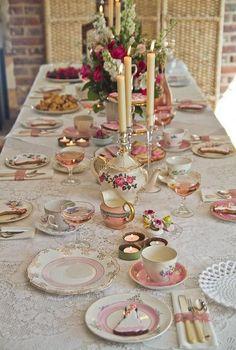Rosehip Sussex vintage tea parties | Vintage china