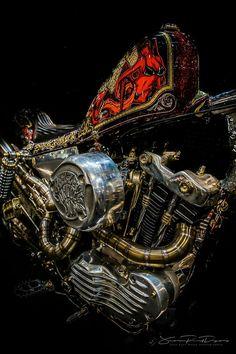 Harley Davidson News – Harley Davidson Bike Pics Custom Motorcycle Parts, Motorcycle Paint Jobs, Chopper Motorcycle, Motorcycle Art, Bike Art, Bobber Chopper, Motorcycle Garage, Harley Davidson Engines, Harley Davidson V Rod