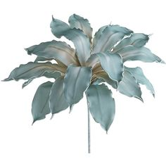 Pier 1 Imports Faux Giant Foam Flower ($17) ❤ liked on Polyvore featuring home, home decor, floral decor, flowers, blue, flower stems, pier 1 imports, flower home decor e handmade home decor