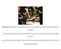 """En un petit clic sur notre site -->> http://epils.fr/   Venez essayer notre nouveau massage, """"la détente de l'ours"""" que nous avons créé de A à Z! Enjoy ;)"""