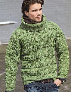Men's Hand Knitted Turtleneck Sweater XS,S,M,L,XL,XXL Hand Knit pullover 67 #Handmade #Turtleneck