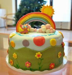 Risultati immagini per torte decorate bambina
