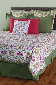 World Beat Bohemian Duvet Set - Bedding And Quilt Sets - Bed Linens - Linens And Fabrics | HomeDecorators.com