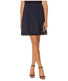 Layered with insets of chiffon, this office-worthy silhouette easily transitions from day to night just by adding flirty jewelry and heels.