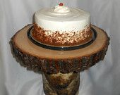 Birch Cake Stand by marys4everflowers on Etsy, $100.00 USD