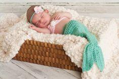 Items similar to Crochet Mermaid, Crochet Mermaid Outfit, Crochet Newborn Photo Prop on Etsy Mermaid Photo Shoot, Mermaid Photos, Mermaid Pose, Mermaid Bikini, Mermaid Mermaid, Halloween Bebes, Baby Halloween Costumes, Newborn Halloween, Halloween Christmas