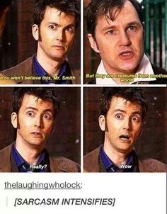 Doctor Who sarcasm
