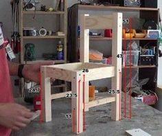 Cómo hacer sillas de madera para niños con tornillos 1/2 | Hacer bricolaje es facilisimo.com