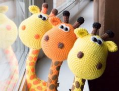 Crochet Giraffe Free Pattern Video Tutorial Included | The WHOot
