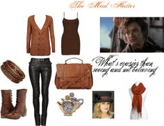 OUAT-The Mad Hatter, created by ouatdreamer on Polyvore/ Once Upon a Time