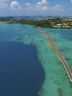 Bermuda causeway. It connects St. David's island where we lived, to St. George's island.