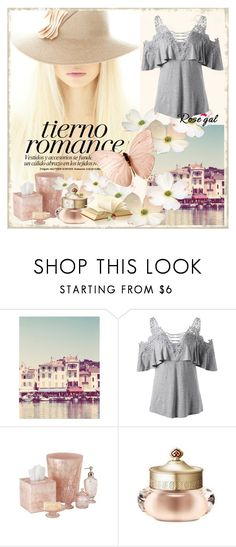 """Rosegal t-shirt"" by merka1-1 ❤ liked on Polyvore featuring The History of Whoo"