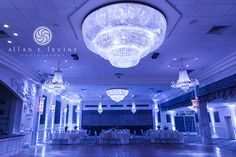 Wedding Reception photo.  Room Shot of Imperial Ballroom at Anthony's Pier 9 - New Windsor, NY  Hudson Valley Upstate New York