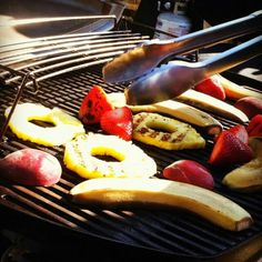 Grilled Fruits - How do