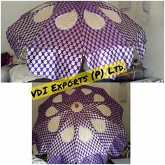 We Manufacture and Exports Wedding Umbrella and Parasols for Wedding Celebration Carnival parades for Holy processions in various fabrics like satin bright fabric cotton silk with embroidered work on it in multicolor designs. We have Heavy Embroidered Umbrella Custom made Umbrella Valvet fabric Umbrella Plain Fabric Umbrella with Hanging Tassels Umberlla with Hanging Frill Royal Pearl Beading Parasol Garden Historical film Parasols King's Parasols Elephant Over shed Parasol Umbrella with…