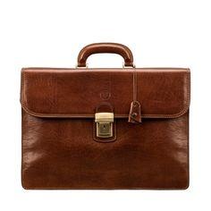 7389ae3a454 MAXWELL SCOTT BAGS CLASSIC TAN FULL GRAIN LEATHER MEN S BRIEFCASE.  #maxwellscottbags #bags
