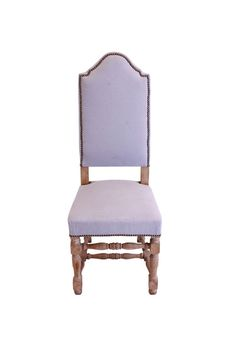 blue vintage dining chair