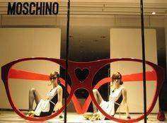 "MOSCHINO,Milan Italy, vintage, ""Seeing Double"", pinned by Ton van der Veer"