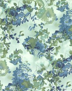 Enchanted Pines - Queen Anne's Garden - Mint Green. Fabric from eQuilter.com