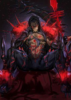 Fate/Grand Order || Cu Chulainn Alter || Berserker