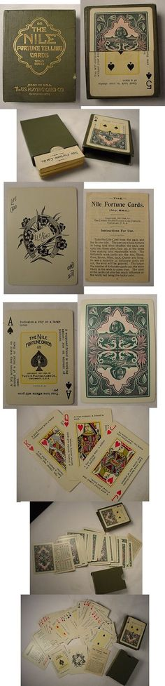 fortune telling cards 1904