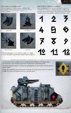 Vlka Fenryka Shoulder Designs
