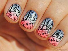 A nail pattern