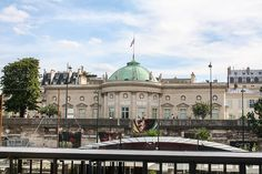 The Hotel Salm is situated on banks of the Seine just opposite the Tuileries Gardens.