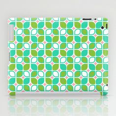 Retro Leaves iPad Case by Joanne Paynter - $60.00