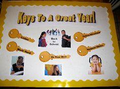 Resultado de imagen de High School Bulletin Boards