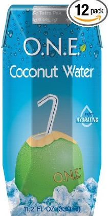 Fresh tender coconut water in a pack of 12. The coolest natural electrolyte.