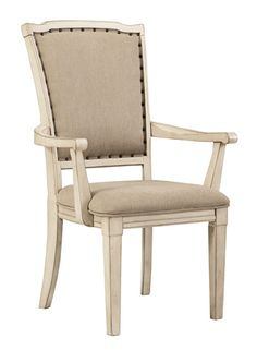 Series Name: Demarlos | Item Name: Dining UPH Arm Chair | Model #: D693-01A