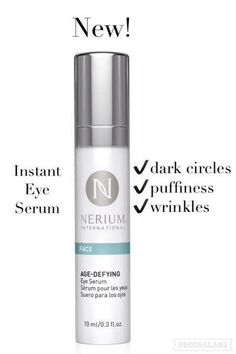 Nerium Newest Addition to their Anti-Aging line up! http://www.nerium.com/shop/dmeccles