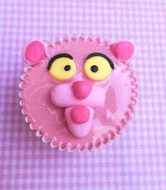 Los Dulces de Victoria: Pink Panther Cupcakes