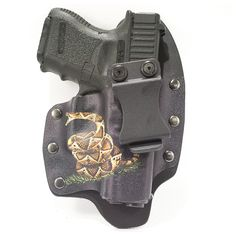 Non-tuckable inside the waist band with custom graphic mold. Concealed Carry, Collection, Conceal Carry