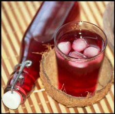 Le jus de bissap, en apéritif ou dessert selon les goûts