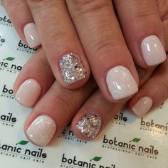 Cream with sparkle