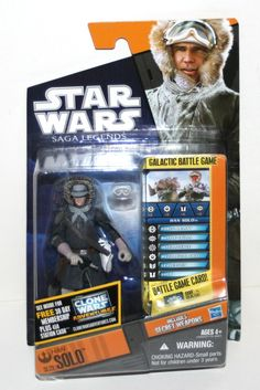 "2010 Hasbro Han Solo SL22 'Saga Legends' 3 3 4"" AF in Package Star Wars | eBay"