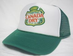 Canada Dry Trucker Hat - Products, Business and Brands Trucker Hats & More