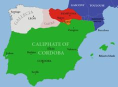 Wikipedia.org/ Al-Andalus--also known as Muslim Spain or Islamic Iberia, was a medieval Muslim territory and cultural domain occupying at its peak most of what are today Spain and Portugal. At its greatest geographical extent in the eighth century, southern France—Septimania—was briefly under its control. The name more generally describes parts of the Iberian Peninsula governed