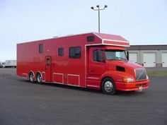 1998 Volvo Conversion Motorhome. A little to Red! How about a shade of Dark Blue!