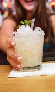 Mai Tai Cocktail Recipe: - 1 1/2 oz Dark Rum - 3/4 oz Cointreau - 3/4 oz Fresh Lime Juice - 1/4 oz Orgeat Syrup - 1/4 oz Overproof Rum Float Glass: Rocks Ice: Crushed Garnish: Mint Sprig