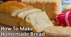 You can make fresh, delicious homemade bread! These step by step instructions, homemade bread recipes and easy tips will help you learn to do it!
