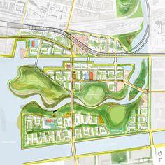 Lower Don Lands, Toronto, Michael Van Valkenburgh Associates, Inc.