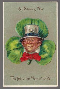 Vintage Leprechauns Silly Fun