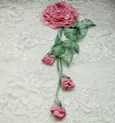 french ribbon work